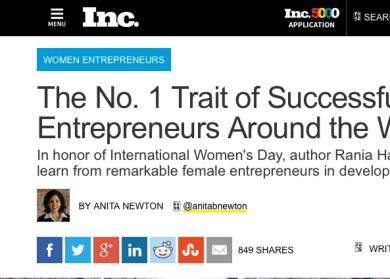 Traits Of Successful Women Entrepreneurs